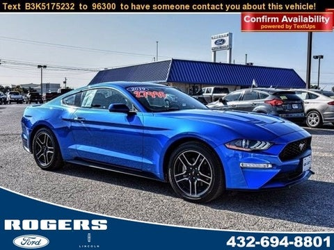 2019 Ford Mustang Ecoboost In Midland Tx Rogers S